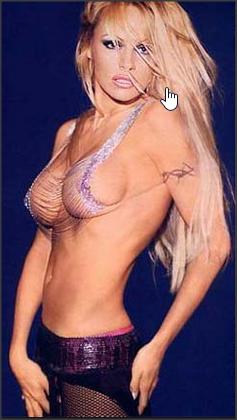 Памела Андерсон голая грудь